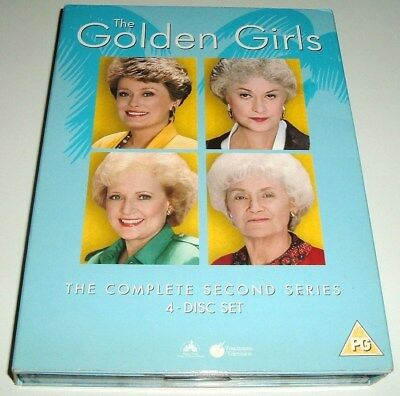 ** The Golden Girls ** Complete Series 2/Second Season ** Uk R2 Dvd Boxset **