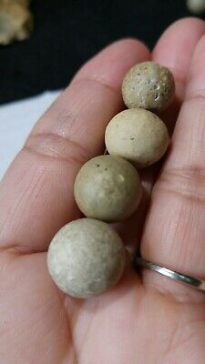 LOOK LOT OF Indian Marbles Game Balls Native American Artifacts