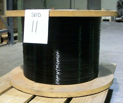 Black Colored Wire (.032 gauge) for Spiral Wiremaking Machines
