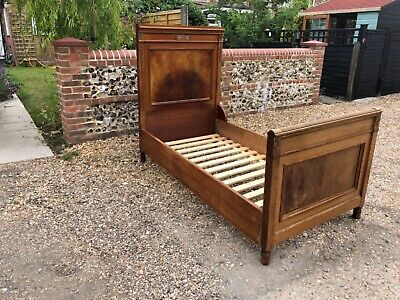 Antique Single Bed French Empire Day Bed XIX Century