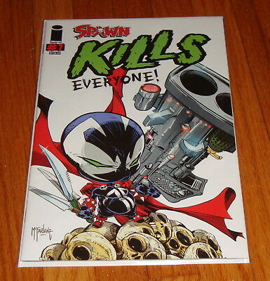 Spawn Kills Everyone #1 Todd McFarlane Variant Edition 1st Print Image Comics