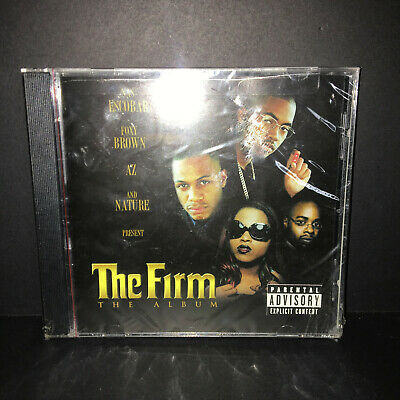 THE FIRM CD - The Album [Explicit](1997) - New Unopened