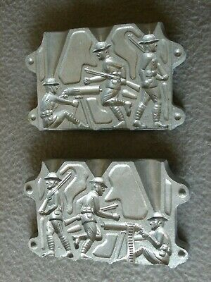 VINTAGE TOY WW1 Soldier's Lead Mold 3