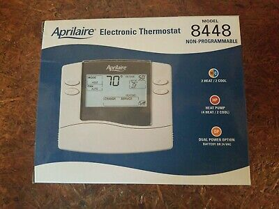 Aprilaire Thermostat - Dual-Stage Heating/Cooling
