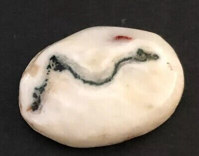 Islamic Eastern Naturally Made Intaglio Agate Red  Stone Seal Arabic R