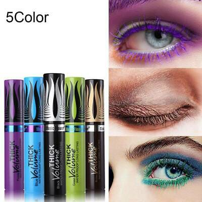 4D Silk Fiber Lash Mascara Colorful Waterproof Curling Thick Eyelash Extension