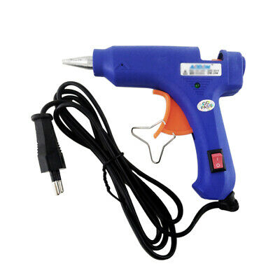 Hot Melt Glue Guns 20W Thermo Electric Heat Temperature Tool Hobby Craft P4P1