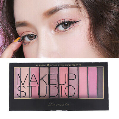 Eyeshadow Palette 10 Color Eye Shadows Waterproof Natural