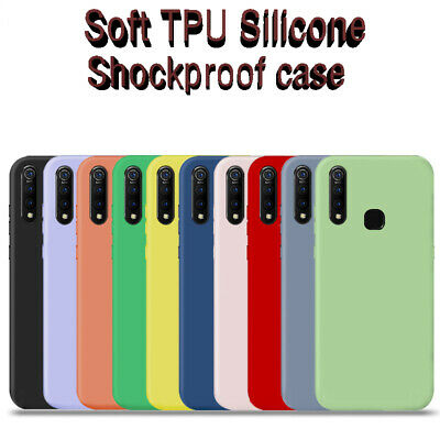 For Xiaomi Redmi Note 7 6 5 Pro Slim Soft TPU Silicone Shockproof Case Cover
