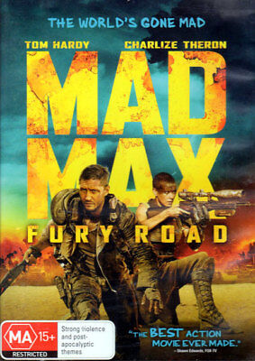 Mad Max Fury Road - Tom Hardy, Charlize Theron - DVD