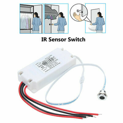AC 85-250V IR Motion Sensor Switch Touchless ON/OFF for Cabinet LED Light Lamp