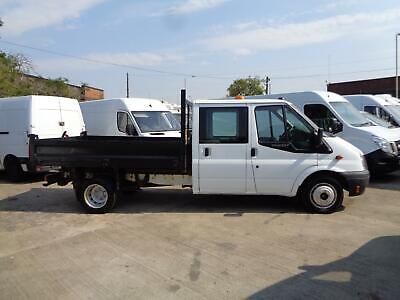 FORD TRANSIT 2.2TDCi | LWB | TIPPER | DOUBLE CAB | 7 SEAT | 1 OWNER | 2012 MODEL