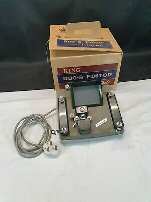 Vintage King Duo-8 Editor Viewmate - 8mm Cine Editor With Original Box