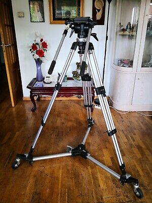 Trípode manfrotto 116mk2 + dolly Manfrotto 181 Como Nuevo