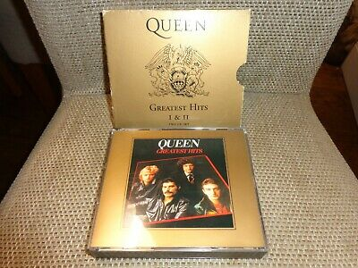 🔥🔥🔥Queen - Greatest Hits 1 & 2 - CD BOX SET DOUBLE CD🔥🔥🔥