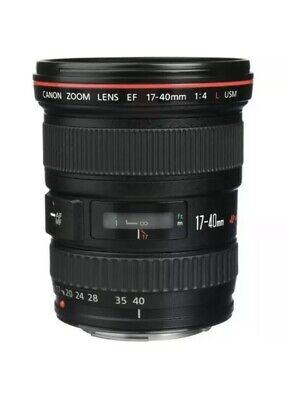 Canon EF 17-40 mm f/4.0 L USM Ultra-Wide Angle Canon EF Zoom Lens Black UK Stock