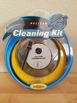 New Pelican Universal Cd And Dvd Cleaning System/Cleaning Kit Pl-921 Sealed