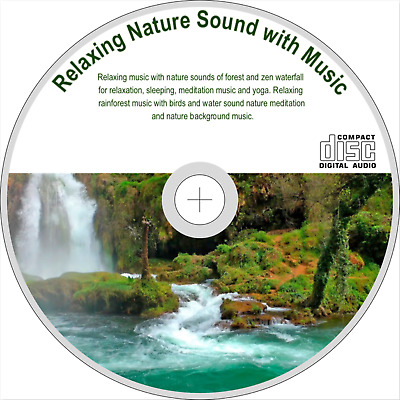 NATURE SOUNDS FOREST Relaxing-Natural Soothing Sound Waterfall Bird