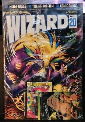 Wizard Magazine No. 20-New-The Maxx Cover & Jabba The Hut/Youngblood Bonus Cards