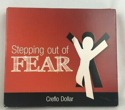 Stepping Out Of Fear (4 CD Set, 2008) Creflo Taffi Dollar - Religious Teaching