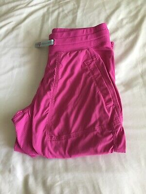 pink ivivva exercise capris. gently used, in good condition