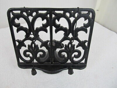 Vintage Cast Iron Cookbook Stand Perfect For ANY Kitchen!