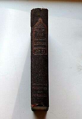 PRINCIPLES OF PHYSIOLOGY BY DR COMBE 1851 7th EDITION 6 WOODCUTS VINTAGE HC BOOK