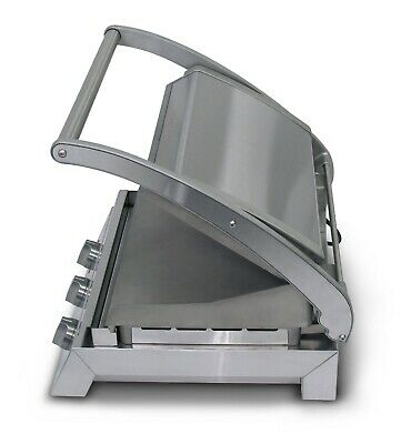 Roband GSA810RT Grill Station, 8 slice ribbed top plate NON STICK COATING