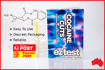 Ez Test Substance Test Kit For Cocaine Cuts [Australian Stock Fast Shipping]