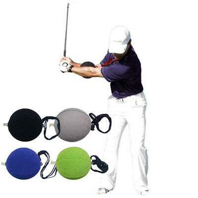 Neck Hanging Golf Smart Inflatable Ball Arm Assist Practice Hitting Aid Portable