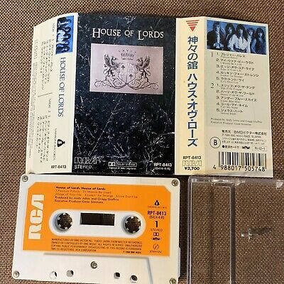 HOUSE OF LORDS JAPAN CASSETTE RPT-8413 w/PS(flap intact) Gene Simmons G.Giuffria