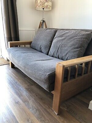 Solid Oak Two Seater Futon By The Company 175 00