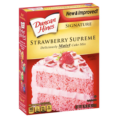 Duncan Hines Strawberry Supreme 15.25 oz