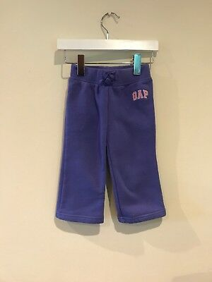 Gap Lovely Baby Girl Purple Jogging Bottoms/ Trousers Age 12-18 Months