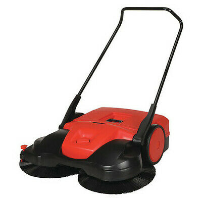 BISSELL COMMERCIAL BG497 Push Sweeper,38 in.W,13.2 gal,WalkBehind