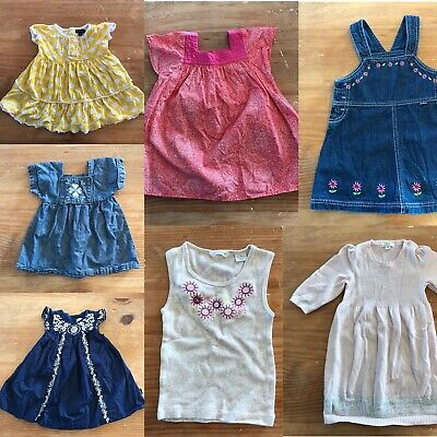 Baby Clothes Bundle 7 x Items Size 6-12 Months Seed Purebaby Pumpkin Patch