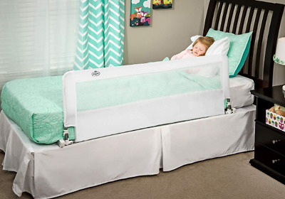 New Hideaway 54-Inch Extra Long Kids Bed Rail Guard, with Reinforced Anchor