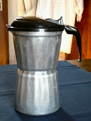 Ancienne CAFETIERE Moka SEB 9 dl Aluminium pur made in France