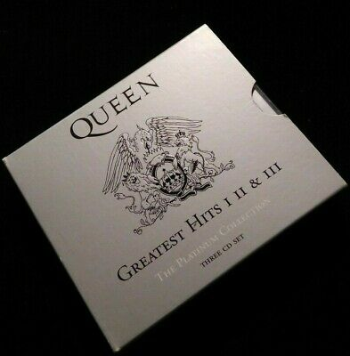 Queen ‎– Greatest Hits I II & III CD (The Platinum Collection) Cat 2061623602