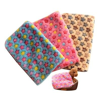 Pet Blanket Puppy Dog Bed Cover Cushion Thicken Warm Mat Cat Soft Sleeping Pad