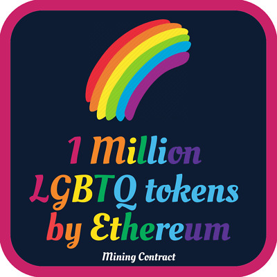 Pride 1 Million LGBTQ Coins | LGBT | MINING CONTRACT | Cryptocurrency | Ethereum