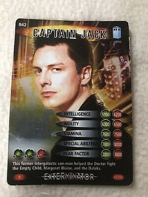 Doctor Who Battles In Time Exterminator #42 Captain Jack