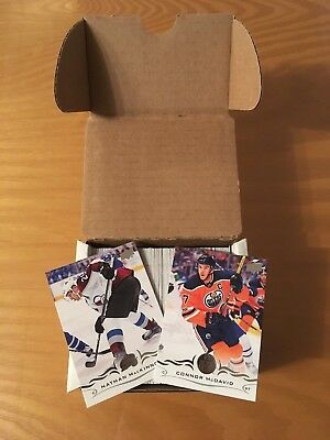 2018-19 Upper Deck Hockey Series 1 Complete Base Set - No Young Guns Included