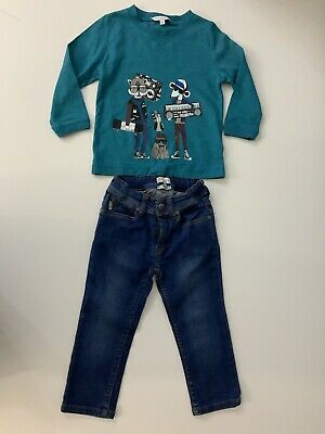 Little Marc Jacobs & Paul Smith Bundle Top & Jeans Age 2 Years VGC Boys