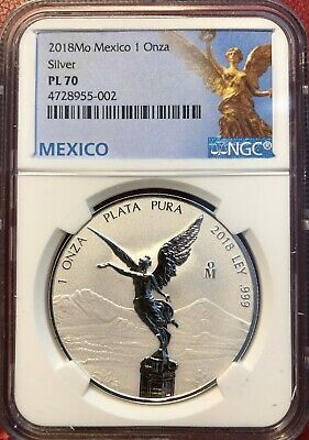 2018 1oz,. Silver Libertad Reverse Proof   *Key Coin of 2018*    NGC RP70