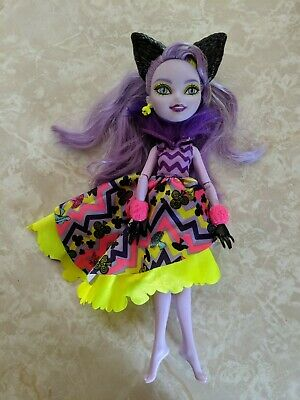 """Monster High 11"""" Doll EVER AFTER KITTY CHESHIRE CAT WAY TOO WONDERLAND"""