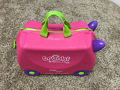 Trunki  Kids Ride-On Suitcase / Carry-On Luggage -  (Pink)
