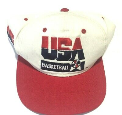 Vintage USA Basketball Snapback Cap Hat Sports Specialties Dream Team OSFA
