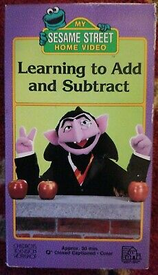 SESAME STREET HOME Video VHS Getting Ready to Read Oscar the Grouch