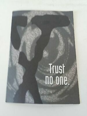 The Xfiles Trust No One Flyer